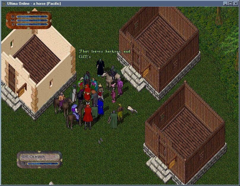 Ultima Online Manfred Deleted a Tower