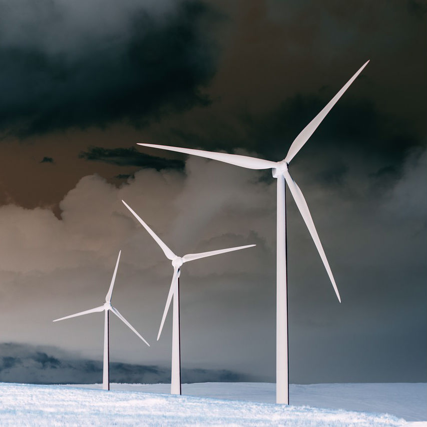 Dark Wind Turbines